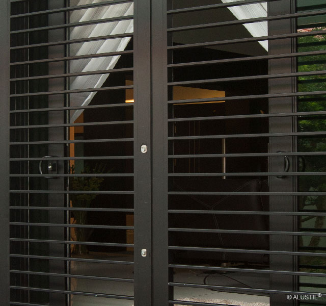 Solutions in door grilles and gate powder coated grill Main entrance door grill
