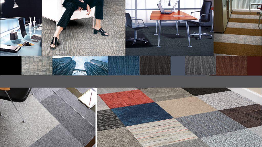 Office Flooring Solution : Carpet Tiles Installation