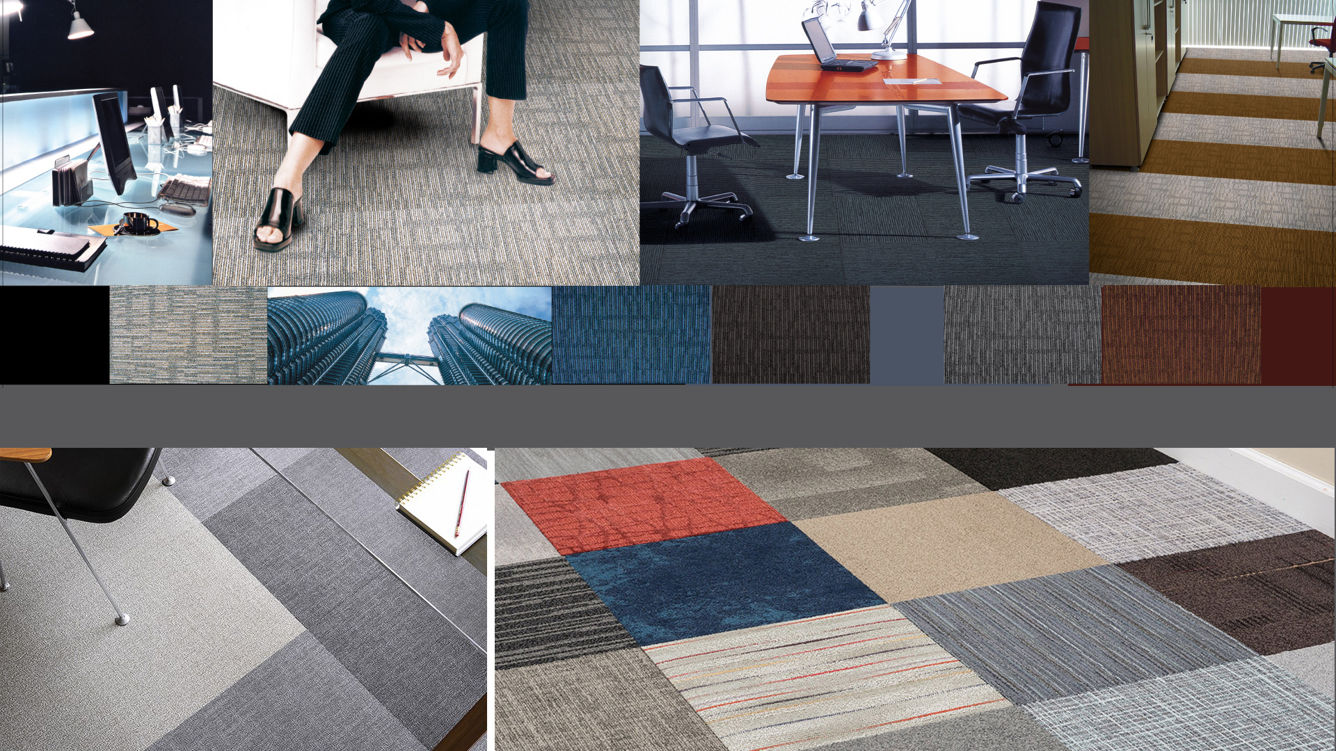 Office Flooring Solution : Carpet Tiles Installation