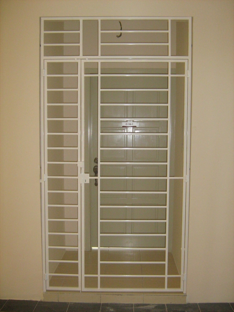 Solutions In Door Grilles And Gate Powder Coated Grill